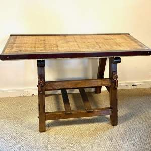 Large 19th Century Dairy Table