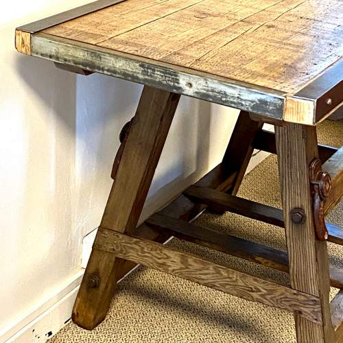 Large 19th Century Dairy Table image-2