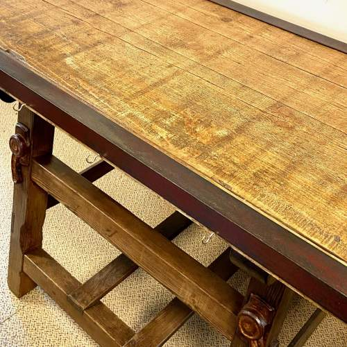 Large 19th Century Dairy Table image-5