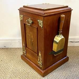 Victorian Purdonium or Coal Box