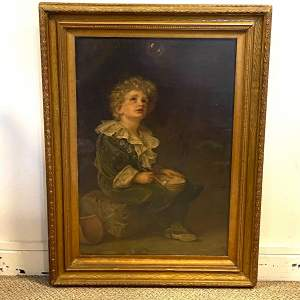Victorian Framed Print of Bubbles by John Millais