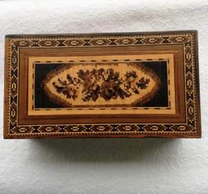 Tunbridge Ware Table Box