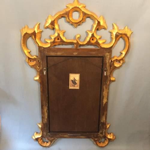 Handcrafted Ornate Italian Gilded and Ebonised Mirror image-4