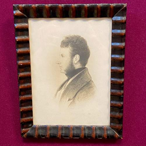 Victorian Pencil Drawn Portrait of David Rollo image-1
