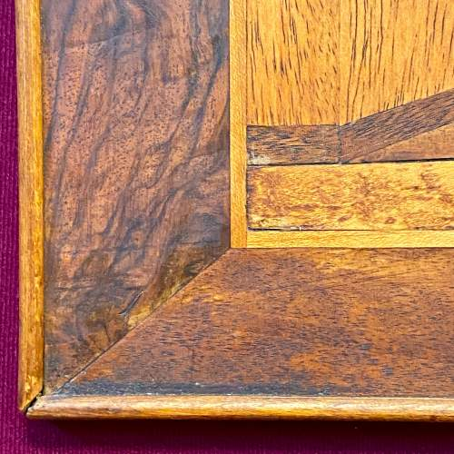 Framed Marquetry Picture of a House image-4