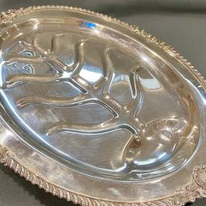 20th Century EPNS Meat Platter