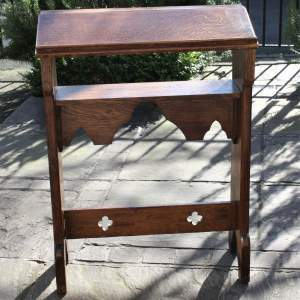 19th Century Oak Ecclesiastical Reading Stand