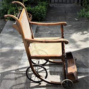 Late Victorian Eastbourne Invalid Chair