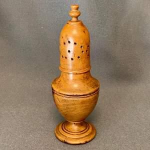 Late 18th Century Sycamore Spice Castor