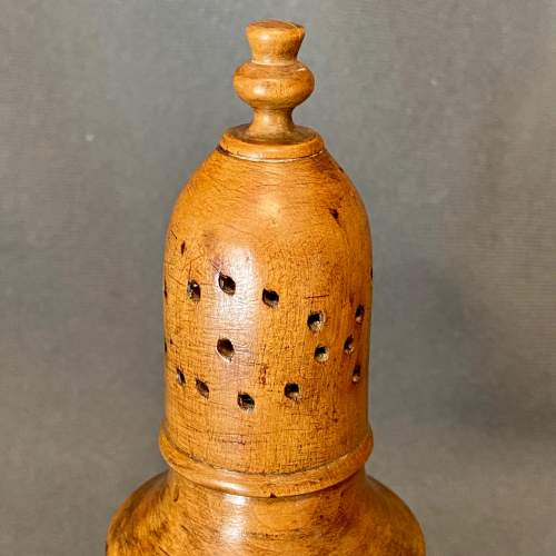 Late 18th Century Sycamore Spice Castor image-2