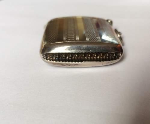 Art Deco Solid Silver Vesta Case image-5
