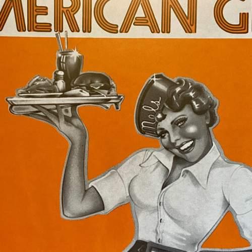 Rare Original Film Poster for American Graffiti 1973 image-2