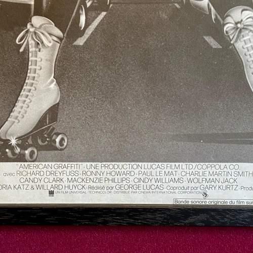 Rare Original Film Poster for American Graffiti 1973 image-4