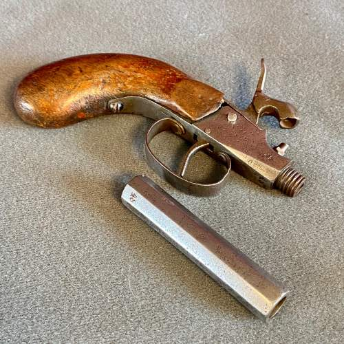 19th Century German Proof marked Percussion Pistol image-3