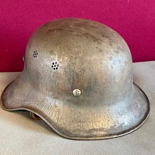 Original WWII German Helmet image-1