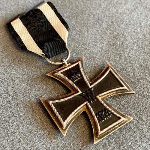 German Iron Cross Second Class Medal image-1
