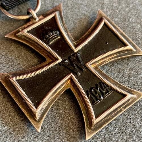 German Iron Cross Second Class Medal image-2