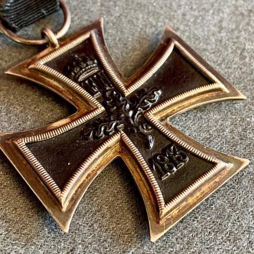 German Iron Cross Second Class Medal image-3