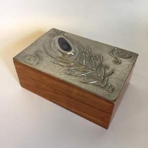 Sasha Bowles Pewter Mounted Jewellery Trinket Box