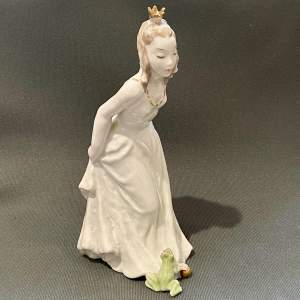 Rosenthal Princess and the Frog Figure