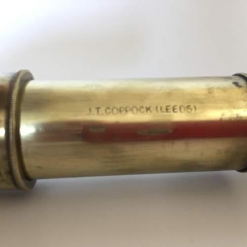 JT Coppock Leeds 4 Draw Telescope Circa 1950s image-2