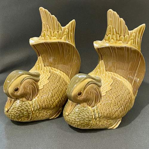 Pair of Lladro Mandarin Duck Bookends image-1
