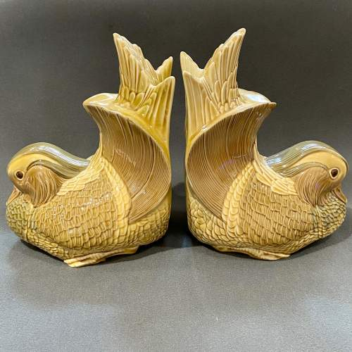 Pair of Lladro Mandarin Duck Bookends image-2