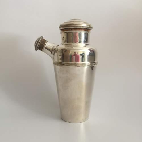 Art Deco Cocktail Shaker with Lemon Juicer image-1