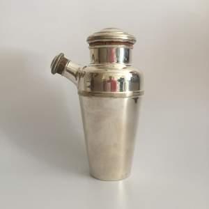Art Deco Cocktail Shaker with Lemon Juicer