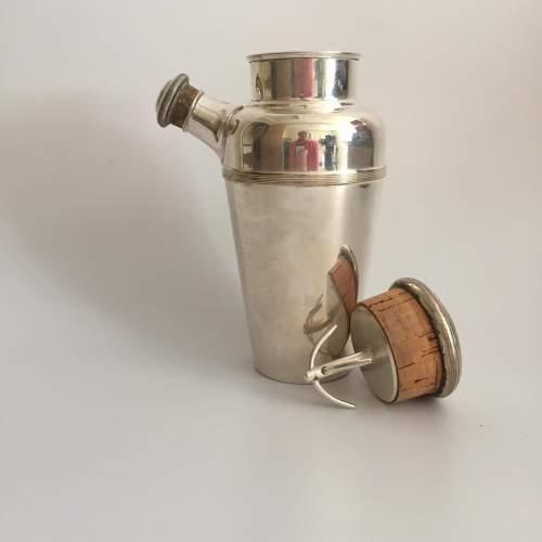 Art Deco Cocktail Shaker with Lemon Juicer image-2
