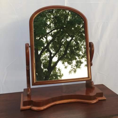 Victorian Mahogany Swing Frame Mirror image-1