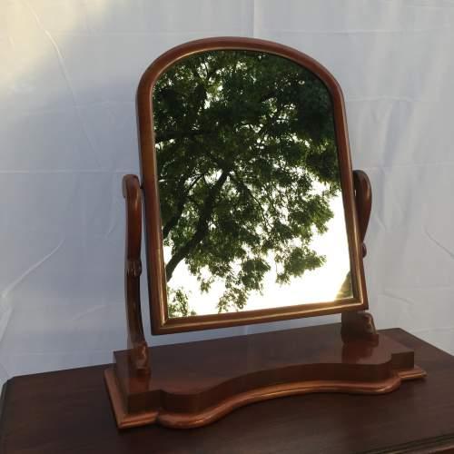 Victorian Mahogany Swing Frame Mirror image-2