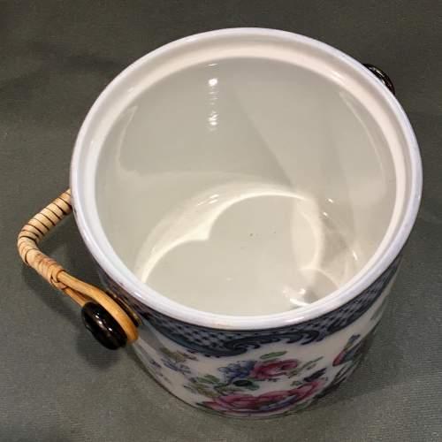 19th Century Losol Ware Biscuit Barrel image-4