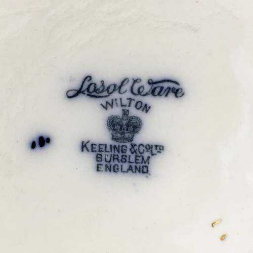 19th Century Losol Ware Biscuit Barrel image-6