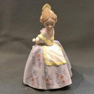 20th Century Lladró Pepita Ceramic Figure