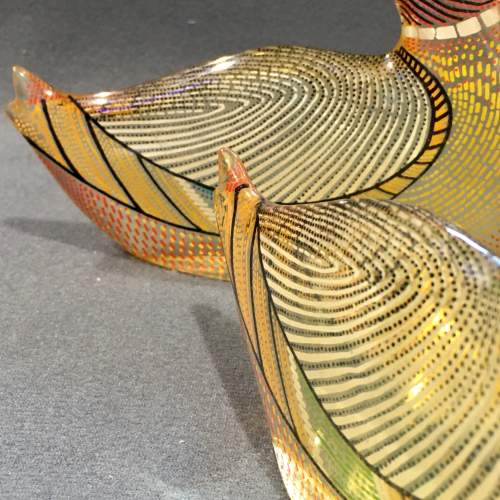 Pair of Opart Lucite Ducks by Abraham Palatnik image-6