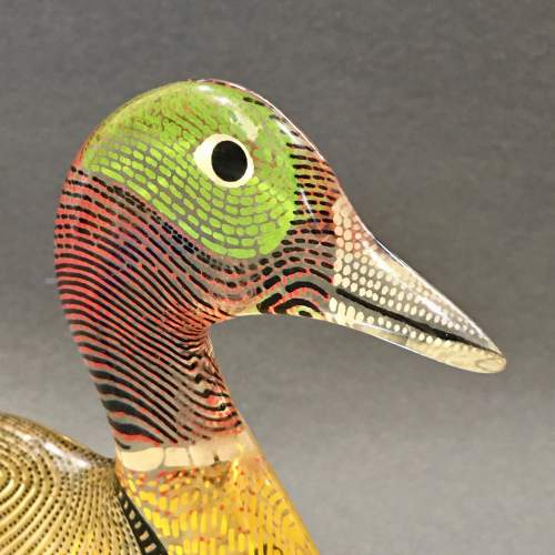 Pair of Opart Lucite Ducks by Abraham Palatnik image-3
