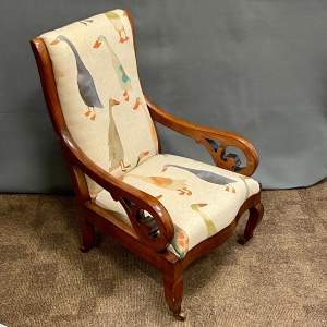 Victorian Mahogany Childs Armchair