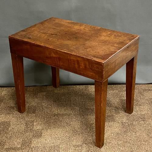 Victorian Mahogany Bidet Table image-2