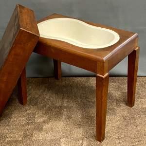 Victorian Mahogany Bidet Table