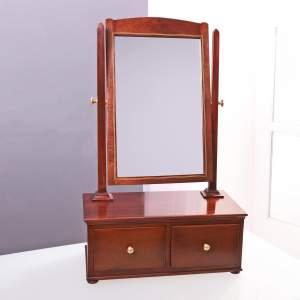 Edwardian Toilet Mirror by S Webb