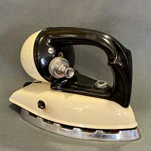 Unusual Mid 20th Century Bakelite and Steel Paraffin Iron