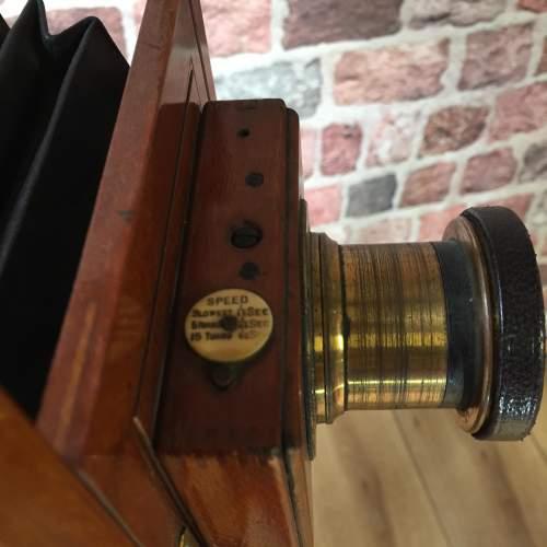 Thornton Pickard Victo Camera with Ash Folding Tripod image-2