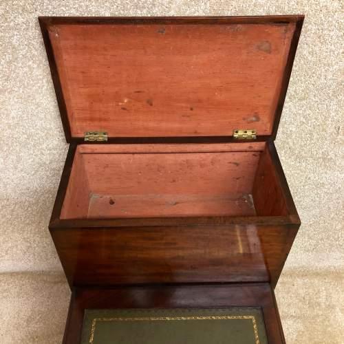 19th Century Mahogany Library Steps image-6