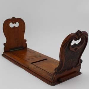 Victorian Oak Book Slide
