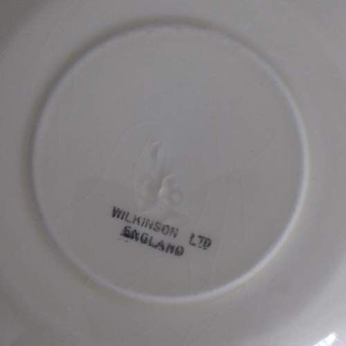 Clarice Cliff Art Deco Banded Conical Cup and Saucer image-5