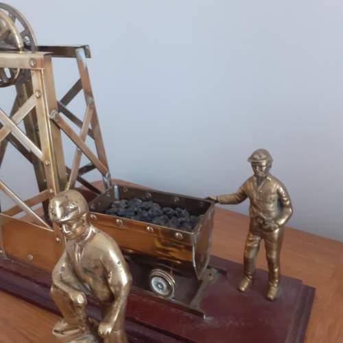 Large Brass Coal Mine Ornament image-3