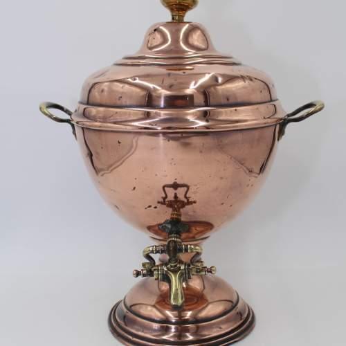 Victorian Copper Samovar image-1