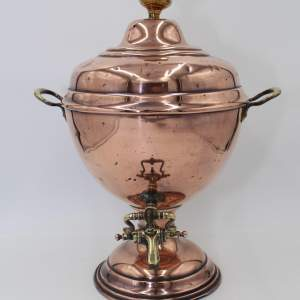 Victorian Copper Samovar