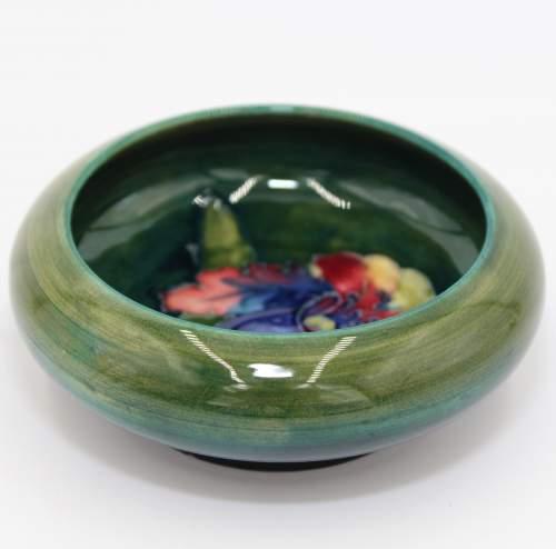 Moorcroft Green Pin Dish image-1